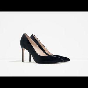 Zara high heels sexy woman size 6